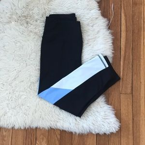 💪Color block 3/4 leggings